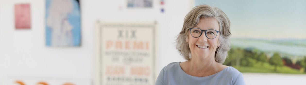 Portät Helga Bergers